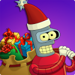 Futurama: Worlds of Tomorrow 1.5.0 Mod (Free Store, Free Supplies, Free Decorations, Free Buildings, Action Skipping) APK