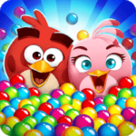 Angry Birds POP Bubble Shooter – VER. 3.34.1 Unlimited (Coin – Power Up) MOD APK
