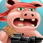 Pigs In War – Strategy Game – VER. 9 Infinite Medals MOD APK