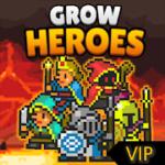 Grow Heroes Vip : Idle RPG  – VER. 3.6 Infinite (Gold – Gems) MOD APK