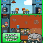 Idle Miner Tycoon 2.14.0 Apk + Mod (Really High CASH Multiplier) for android Free Download
