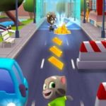Talking Tom Gold Run 2.8.3.67 Apk + Mod (unlimited Gold Bars/Dynamite/Diamond) for android Free Download
