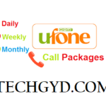 Ufone Call Packages – Daily, Weekly & Monthly Call Offers Free Download