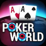 Poker World – Offline Texas Holdem – VER. 1.5.2 Unlimited (Chips – Tickets) MOD APK