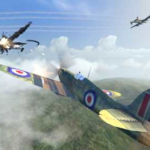 WW2 Dogfight 1.2 Apk + Mod (Gold/Silver/Fuel) android Free Download