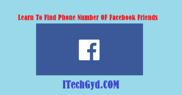 find phone number of facebook friends