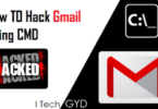 hack gmail using cmd