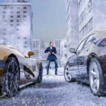 Winter City Shooter Gangster Mafia 1.0 Apk + Mod (Money/Ammo) android Free Download