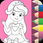 Princess Coloring Book – VER. 1.3.2 Unlock MOD APK