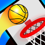 Circle Dunk – Basketball Tap Games For Free – VER. 1.0.0 Ads Removed MOD APK