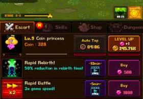 Coin Princess VIP: Retro RPG Quest