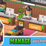 Idle Coffee Corp 1.2.263 Apk + Mod (Unlimited Gold) android Free Download