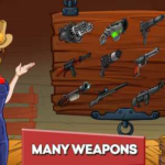 Zombie Ranch – Battle with the zombie 2.1.1 Apk + Mod (Live/Gold) android Free Download