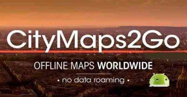 City Maps 2Go Pro Offline Maps apk