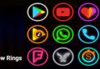 Neon Glow Rings - Icon Pack v4.0.0 APK