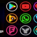 APK MANIA™ Full » Neon Glow Rings – Icon Pack v4.4.0 APK Free Download