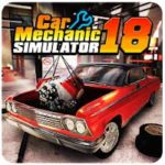 Car Mechanic Simulator 18 1.2.2 Apk + MOD (Money) Android Free Download