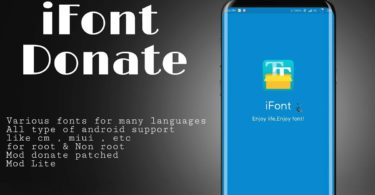 iFont 5.9.8.4 b149 (Donate Patched + Mod Lite)
