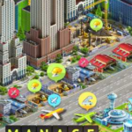 Airport City 7.2.24 Apk + Mod Energy,Fuel,Gold for Android Free Download