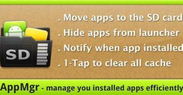 AppMgr Pro III (App 2 SD) v4.26 APK