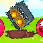 Latest Red Ball 4 MOD APK Hack Unlimited Lives & Health [Levels] Free Download