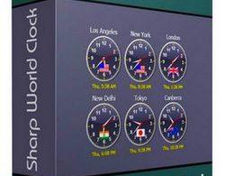 Sharp World Clock 8.7.3 with Keygen