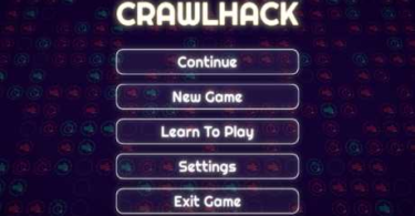 CrawlHack - A Navigational Strategy / Puzzle Game