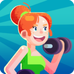 Download Idle Fitness Gym Tycoon MOD APK v1.1.0 (Unlimited Money) Free Download