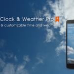 Transparent clock weather (Ad-free) 3.36.2 Apk Free Download