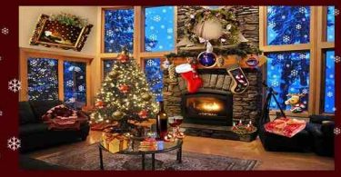 Christmas Fireplace LWP Deluxe Apk