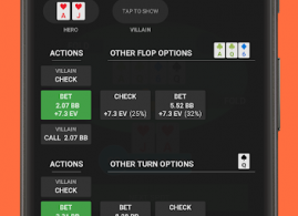 Postflop+ GTO Poker Trainer For No Limit Holdem v1.2.2 [Pro] APK Free Download