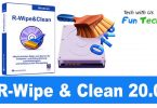 R-Wipe & Clean 20.0 Build 2266 Full Download+ Portable