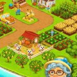 Happy farming Day & food farm game City 3.27 Apk + Mod (Free Shopping) android Free Download