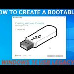 How to create a Windows 10 Bootable USB for Legacy MBR old Laptops and Desktop Computers 2019-2020 Free Download
