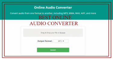 The Best Online Audio Converter For Your Enjoyment