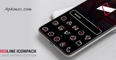 RedLine Icon Pack Apk