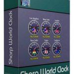 Sharp World Clock 8.7.9 with Keygen Free Download