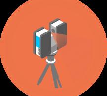 SCENE 3D laser scanner Full