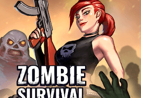 Zombie games - Zombie run & shooting zombies - VER. 1.0.5 Unlimited (Gold